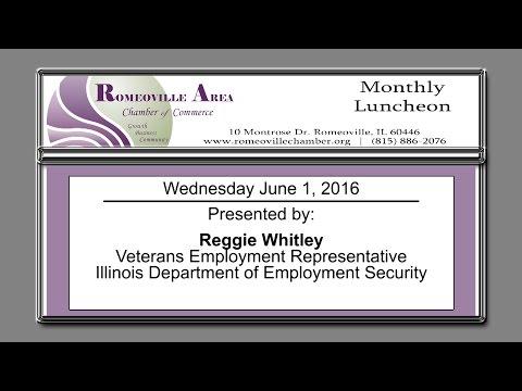 Romeoville Area Chamber of Commerce Luncheon June 2016