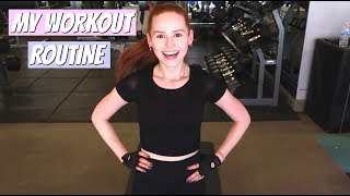 My Workout Routine (with my trainer) | Madelaine Petsch