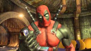 Deadpool The One and Only-Shoryuken!