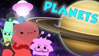 Planets Song with The Zorbits | Science For Kids