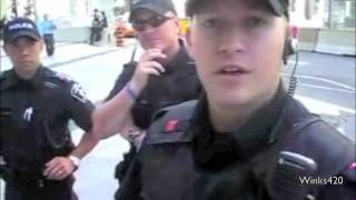 NWO - TORONTO - ID CHECK - SHOW US Z PAPERS - Public Works Protection Act - ( Toronto - 2010 )720P