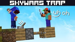 Piston jump trap thingy | Hypixel Skywars