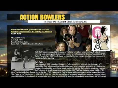 Mark Roth Talks About His Action Bowling In Brooklyn