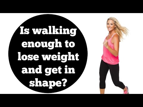 Weight Loss, Exercise, Fitness: Is Walking Enough?