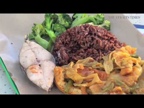 Straits Times Life Video Healthy Eating in Hawker Centre