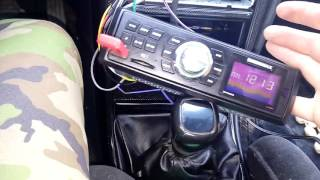 Магнитола soundmax и планшет из китая в Форд Монде