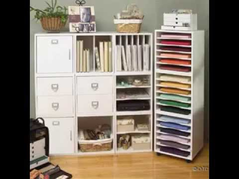 DIY Scrapbook Projects Paper Storage Ideas