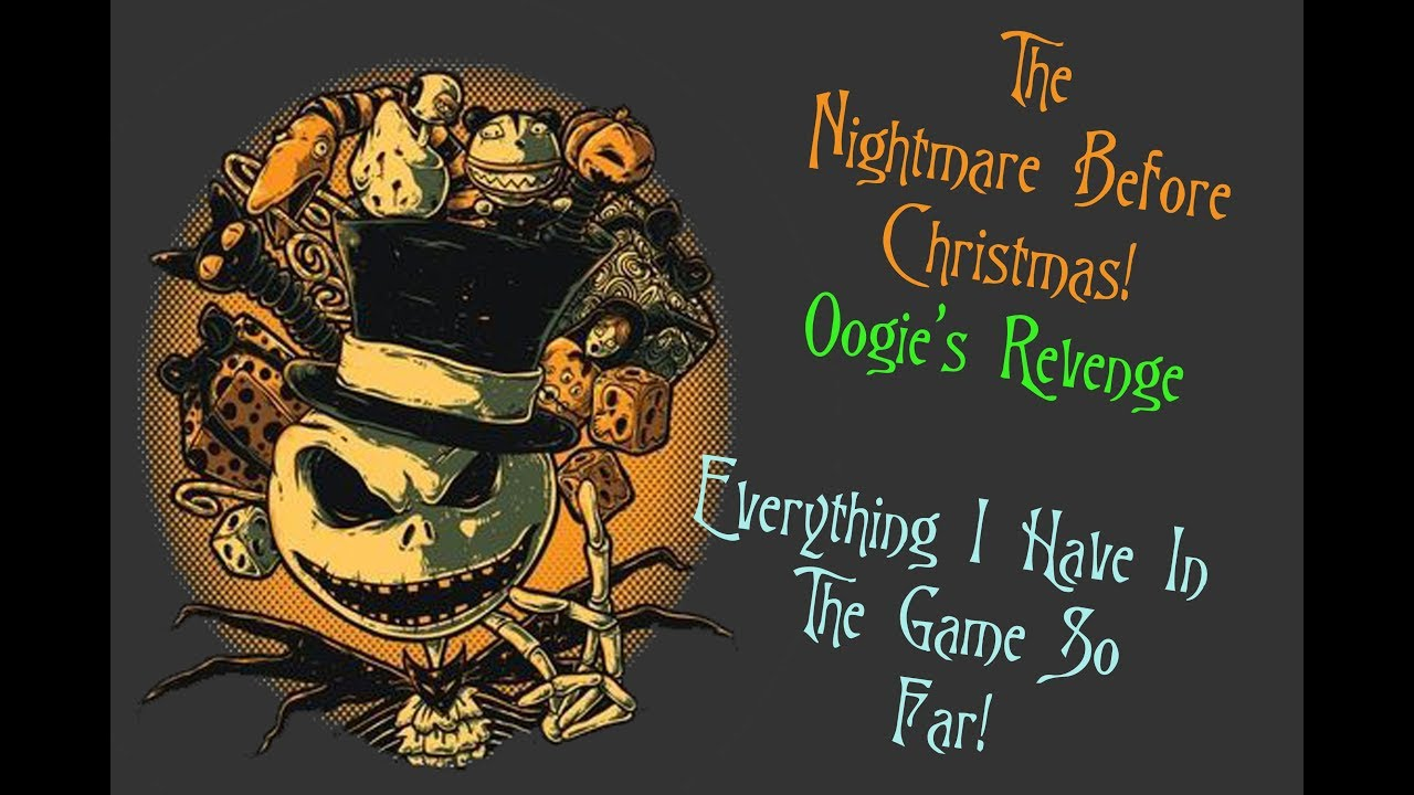 Jack Skellington Oogies Revenge