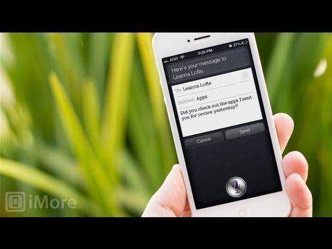 how to get siri to read your email