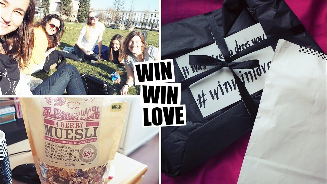 VLOG | Jak jsem se opařila, první piknik & WIN WIN LOVE HAUL