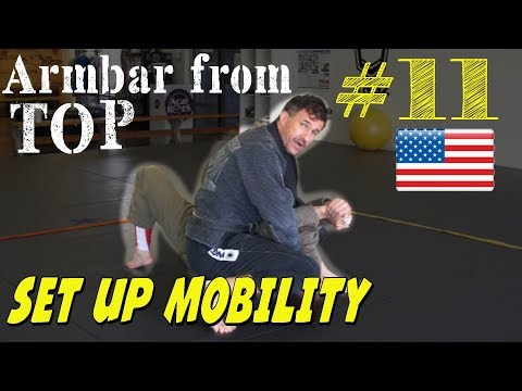 How to develop a really tight Armbar from Top using a Mobility Drill