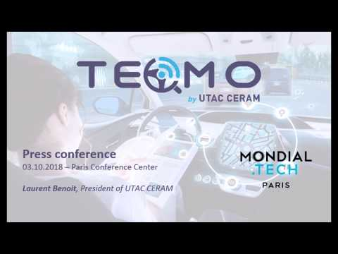 Press Conference - Introducing TEQMO | Paris Conference Center, 03.10.2010