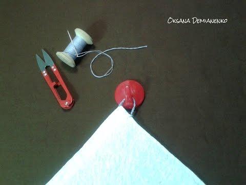 0 - Як зробити петельку на рушник?