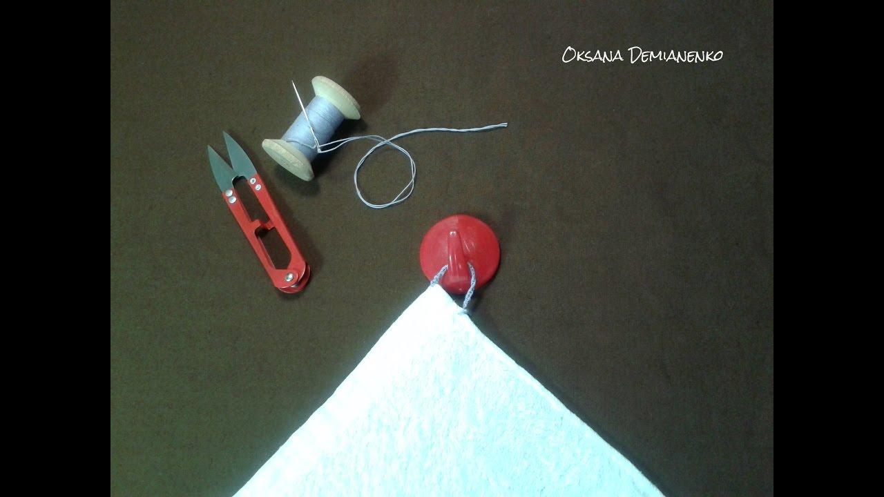Как сделать петельку для юбки