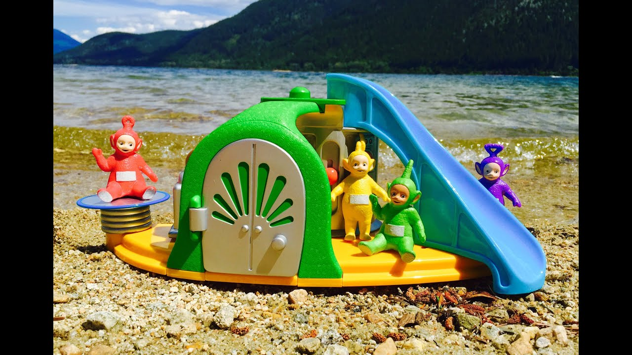 TELETUBBIES Toys Visit Beach House with Slide