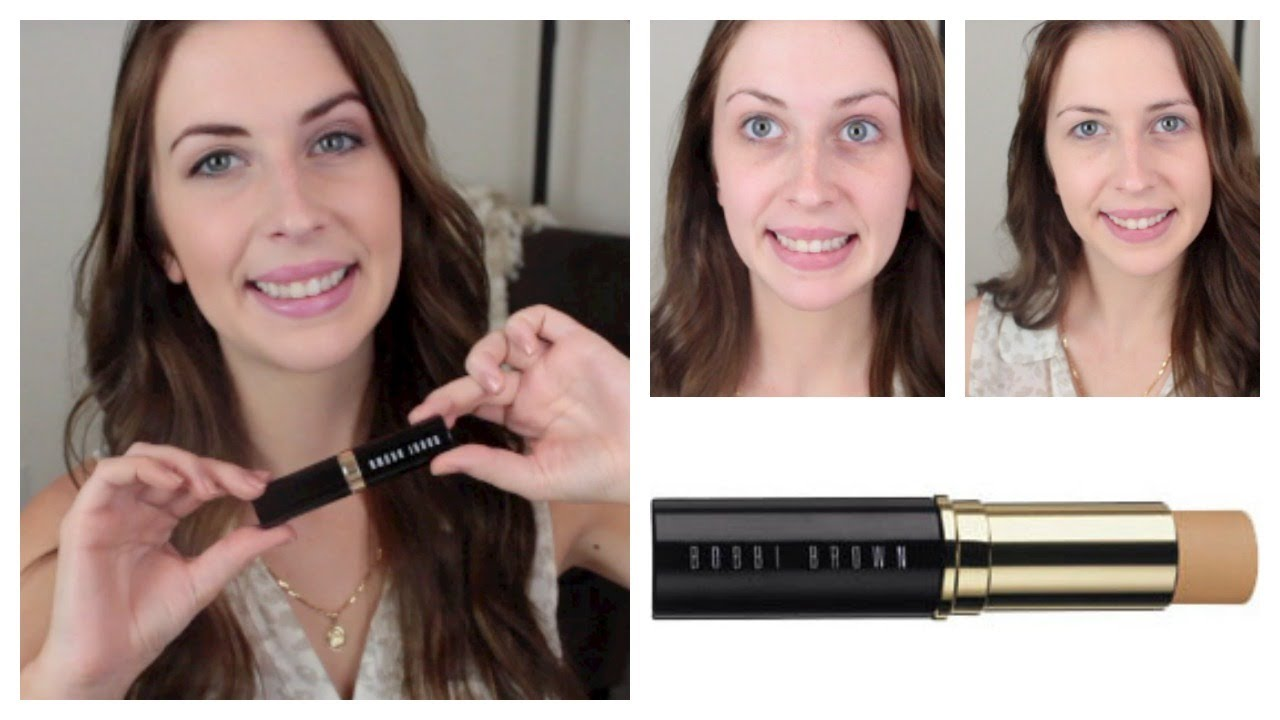 Bobbi Brown Skin Foundation Stick Review Makeup Minute Youtube