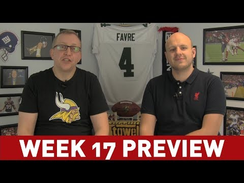 NFC WEEK 17 PREVIEW - WHO WILL MAKE THE PLAYOFFS?