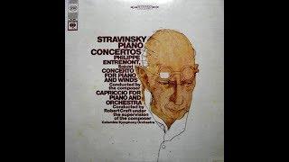 Stravinsky Capriccio for Piano and Orchestra Entremont