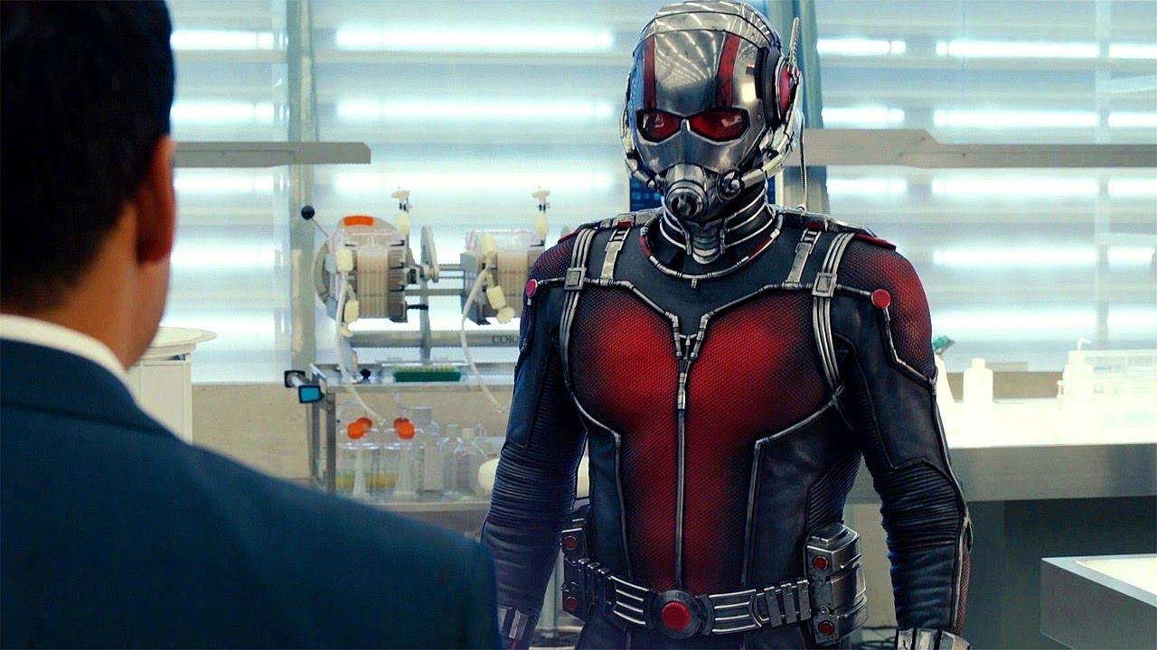 Ant Man Retina Movie Wallpaper: Ant-Man (2015) Movie CLIP HD