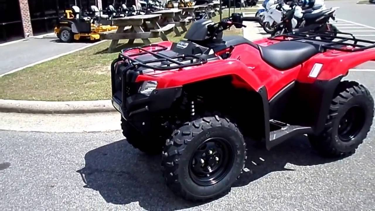 2017 - Honda FourTrax® Rancher® 4x4 DCT EPS - YouTube