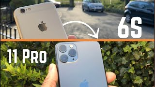 I switched from iPhone 6S to iPhone 11 Pro! My Thoughts