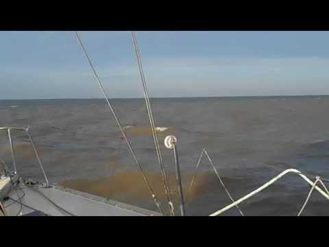 Transición Rio de La Plata a Mar Argentino