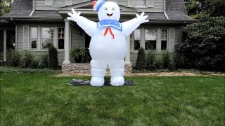 Morbid Airblown Halloween Inflatable - Ghostbusters Marshmallow Man - 8 Ft Tall