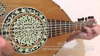 عزف عود أغنية صباح فخري-إبعت لي جواب Sabah Fakhry Music on Oud
