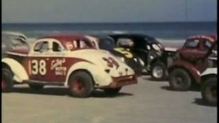 1952 Grand National Race Daytona Beach NASCAR (Lloyd Moore)