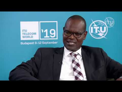 ITU TELECOM WORLD 2019: John Omo, Secretary General, African Telecommunications Union (ATU)