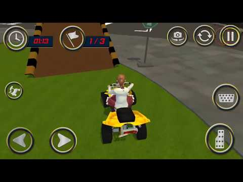High School Girl ATV Stunt Extreme Game Android Gameplay