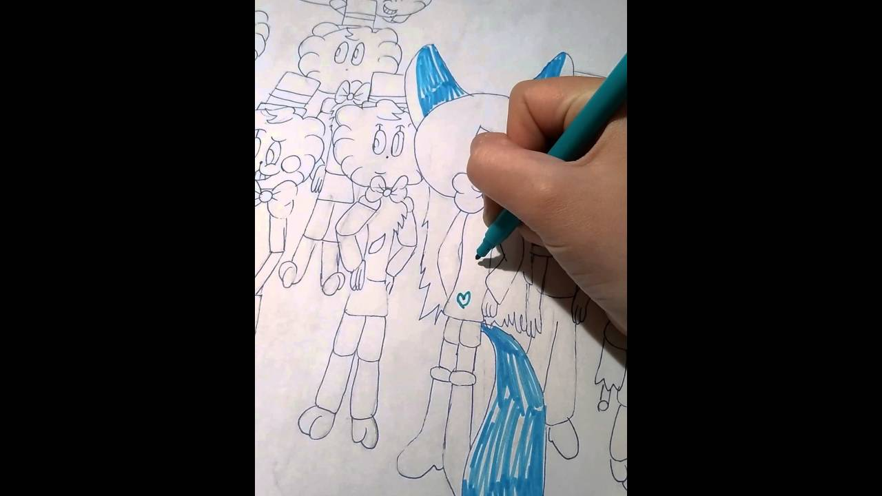 painting freddy's family fnaf part 4  ausmalen 1   youtube