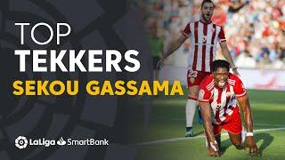LaLiga SmartBank Tekkers: Doblete de Sekou Gassama para poner líder a la UD Almería
