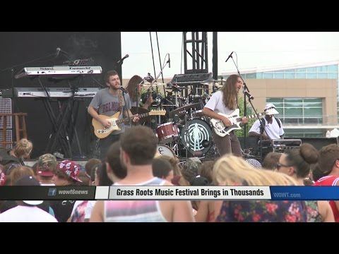 Grass Roots Festival Brings in Thousands