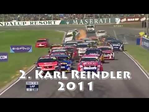 Top 10 - V8 Supercars Crashes of the Last Decade