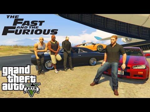 THE FAST & FURIOUS 8! GTA 5 MOD!