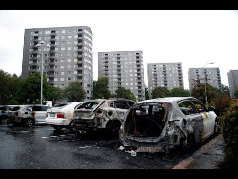Migrants Torch Over 100 Cars Across Sweden in 'Coordinated A