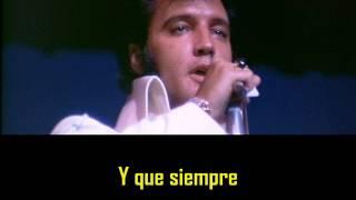 ELVIS PRESLEY - Let it be me ( con subtitulos en español )  BEST SOUND