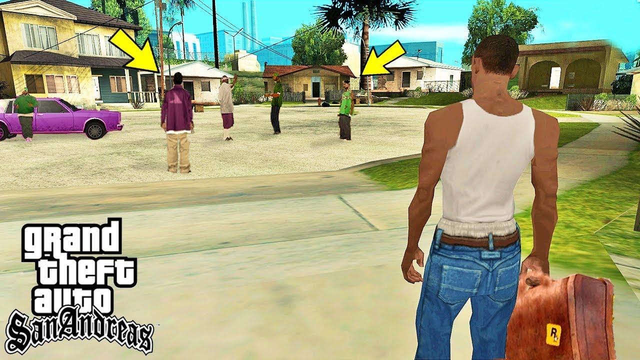 Что происходит с Семьей Грув Стрит после сюжета игры GTA San Andreas?
