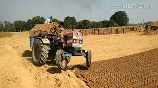 Eicher 241 on load(आयशर 241 ट्रैक्टर)