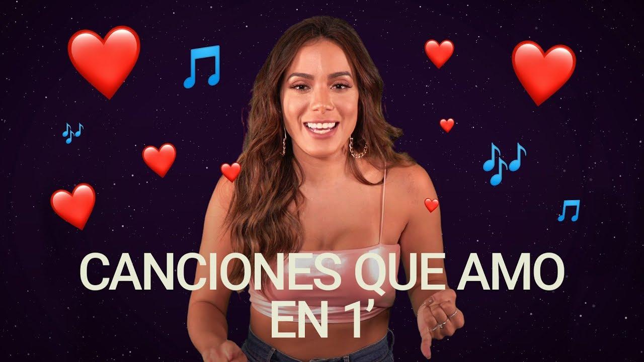 Cuáles Son Las Canciones Favoritas De Anitta Canciones Que Amo
