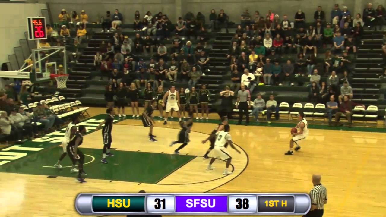 Humboldt State Men S Basketball Vs Sf State Highlights 12 12 15