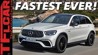 Is the 2020 Mercedes-AMG GLC 63 S Really the Quickest and Fastest SUV Out There?