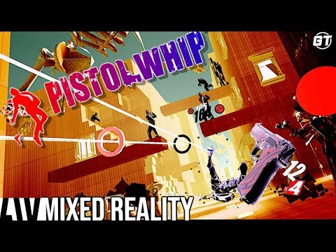 Pistol Whip VR Mixed Reality Playthrough