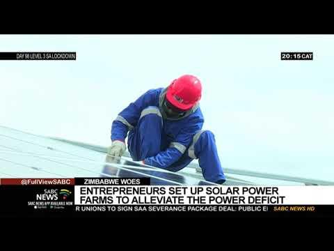 Zimbabwe | Entrepreneurs set up solar power farms to alleviate power deficiency