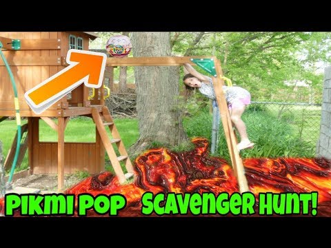 New Pikmi Pop Scavenger Hunt At The Playground