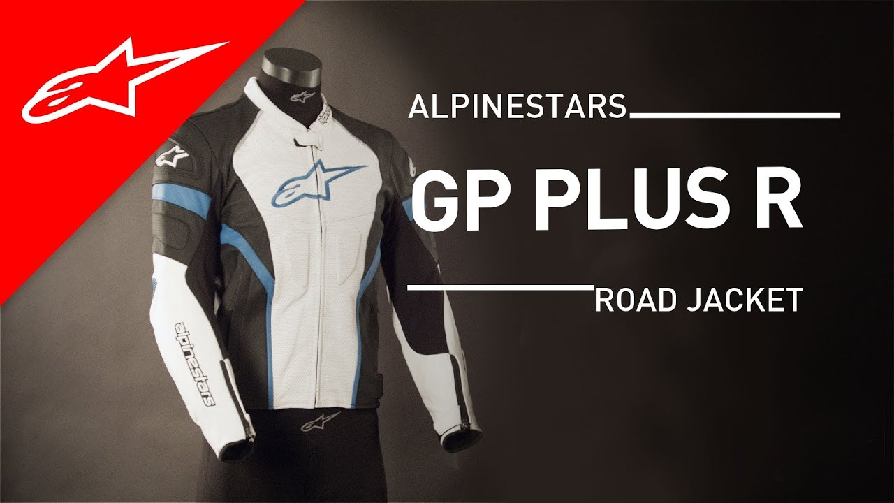 gp plus r perforated leather jacket l alpinestars youtube. Black Bedroom Furniture Sets. Home Design Ideas