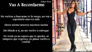 Gloria Trevi - Vas A Recordarme