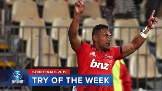 TRY OF THE WEEK | Super Rugby 2019 Semi Finals