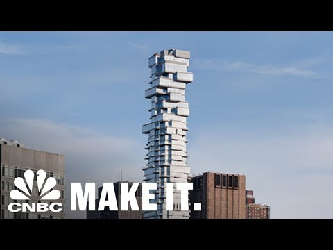 New York City's 'Jenga Building' Is One Of The Most Unique Skyscrapers in Manhattan | CNBC Make It.